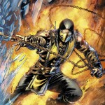 Mortal Kombat X - Comic Book Scorpion