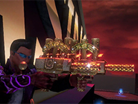The Weapons Of Sin From Saints Row: Gat Out Of Hell