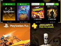 Free PlayStation & Xbox Video Games For The New Year