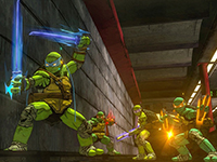 Screenshots For TMNT: Mutants In Manhattan Have Surfaced