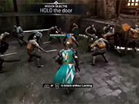 Hold The Door We Have Some New For Honor Gameplay