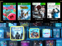 Free PlayStation & Xbox Video Games Coming August 2017