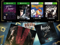 Free PlayStation & Xbox Video Games Coming October 2017