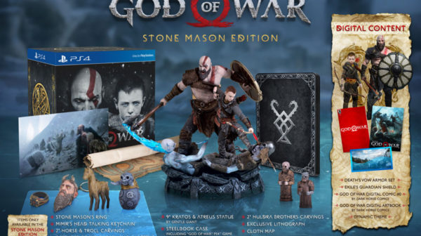 God Of War — Stone Mason Edition