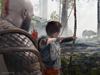 Have Another Look At How Autonomous Atreus Will Be In God Of War