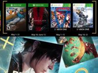 Free PlayStation & Xbox Video Games Coming May 2018