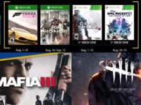 Free PlayStation & Xbox Video Games Coming August 2018