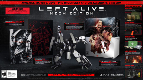 Left Alive — Mech Edition