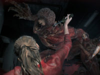 Lickers Are Back & Giving Claire A Horrible Experience In Resident Evil 2
