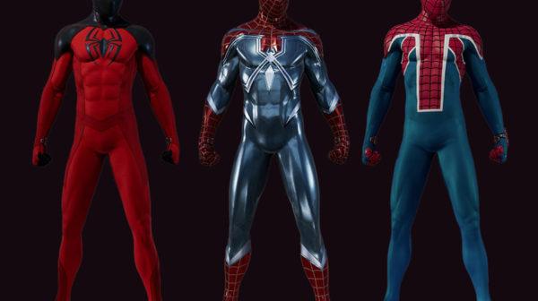 Spider-Man — The Heist Suits