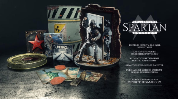 Metro Exodus — Spartan Collector's Edition