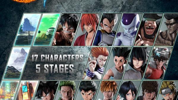 Jump Force — Beta Characters