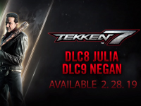 Julia & Negan Are Getting Into The Mix Of Tekken 7 Soon