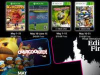 Free PlayStation & Xbox Video Games Coming May 2019