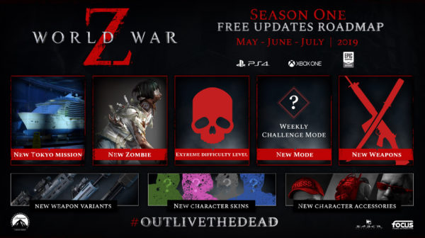 World War Z — Post-Launch Content Roadmap