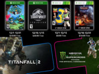 Free PlayStation & Xbox Video Games Coming December 2019