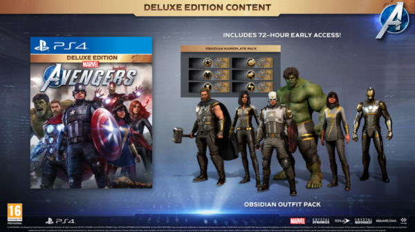 Marvel's Avengers — Deluxe Edition