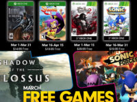 Free PlayStation & Xbox Video Games Coming March 2020
