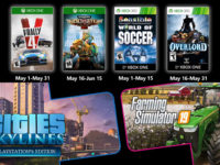 Free PlayStation & Xbox Video Games Coming May 2020