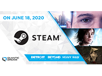 Detroit: Become Human, Beyond: Two Souls, & Heavy Rain Heading To Steam In June