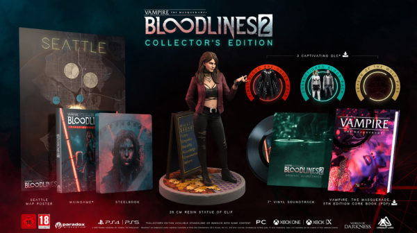 Vampire: The Masquerade — Bloodlines 2 — Collector's Edition