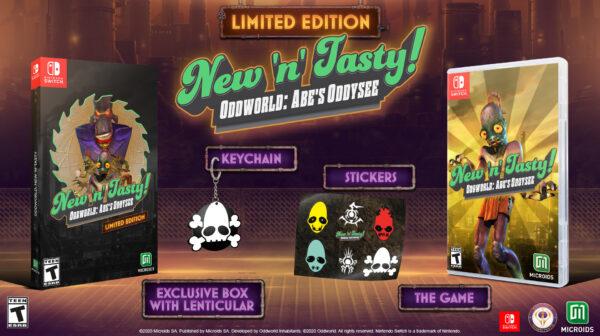 Oddworld: New 'N' Tasty — Limited Edition