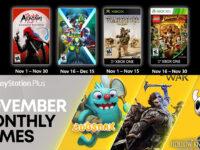 Free PlayStation & Xbox Video Games Coming November 2020